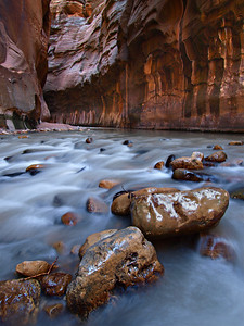 Virgin River within the Narrows - Zion National Park