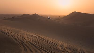 Dune Bashing, UAE