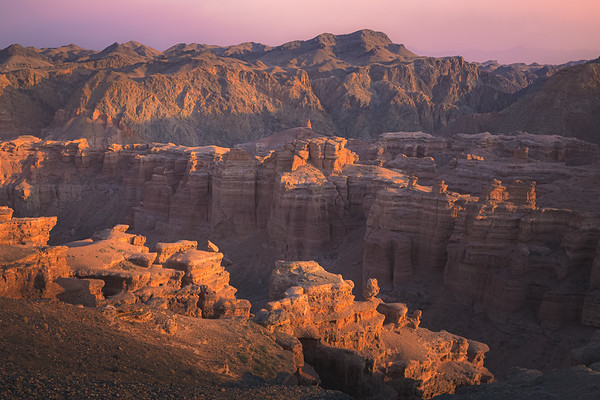 Charyn Canyon National Park, Kazakhstan