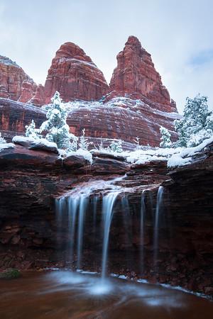 Winter's Waterfall