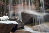 Stream in Sierra Nevada at Mount Whitney trailhead.