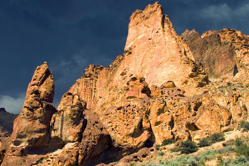Dago Gulch in the Leslie Gulch area of Southeastern Oregon.