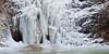Five shot panorama of the Jump Creek Falls.