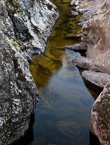 Jump Creek Canyon detail
