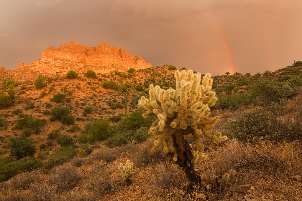 Rainbow, Picketpost Mountain