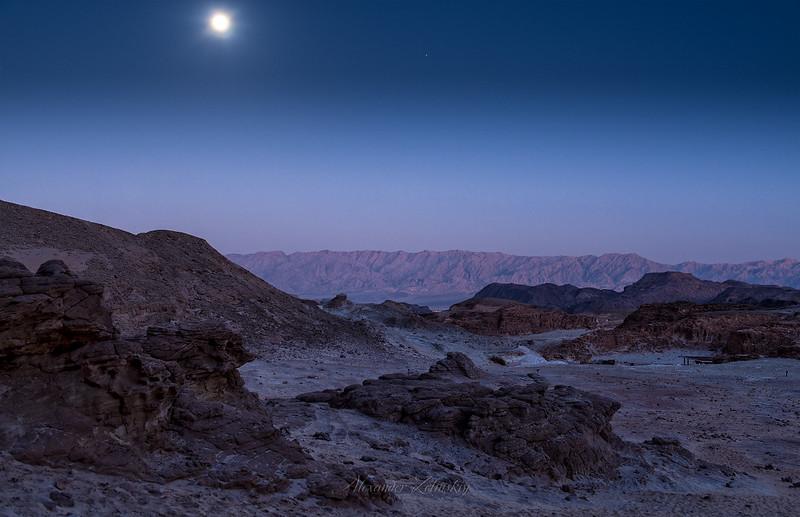 Desert after Sunset