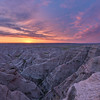 Dawn in the Badlands