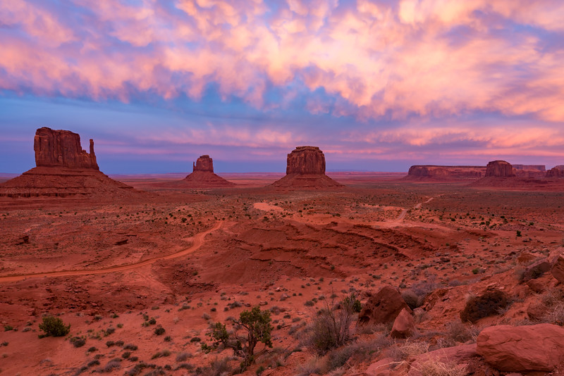 Monument Valley Twilight