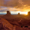 Daybreak at Monument Valley