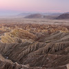 Borrego Badlands at Dusk
