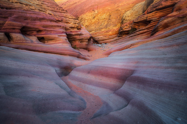 Amazing colors of rock found in the Valley of Fire