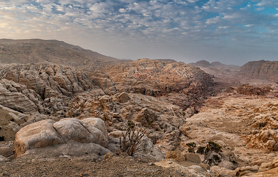 View on Petra Valley