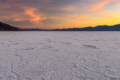 Sunset at Badwater