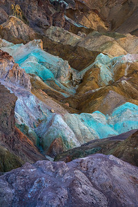 Incredible colors at Artist Palette - Death Valley, California
