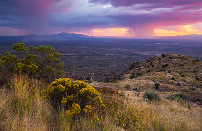 Tanque Verde Ridge Storm Light 5