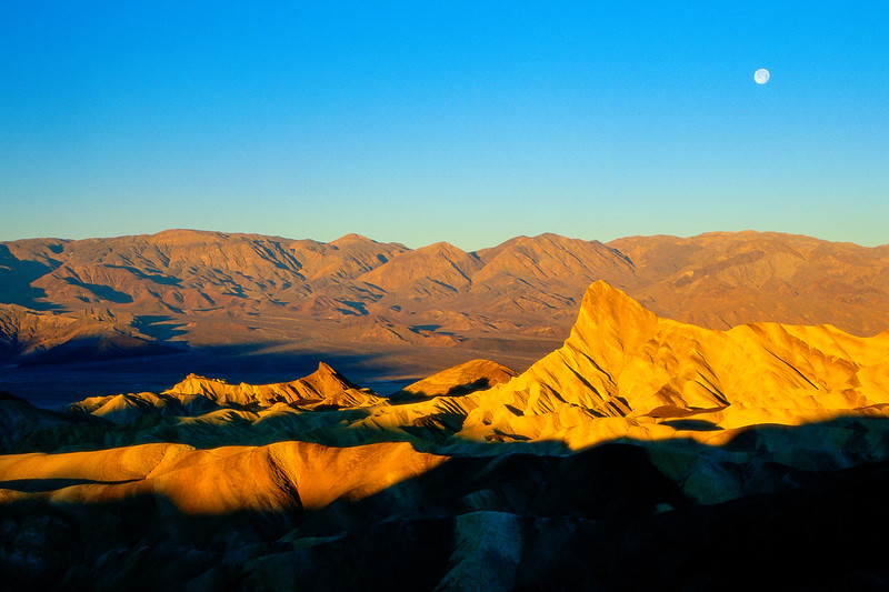 Zabriskie Point and Moon