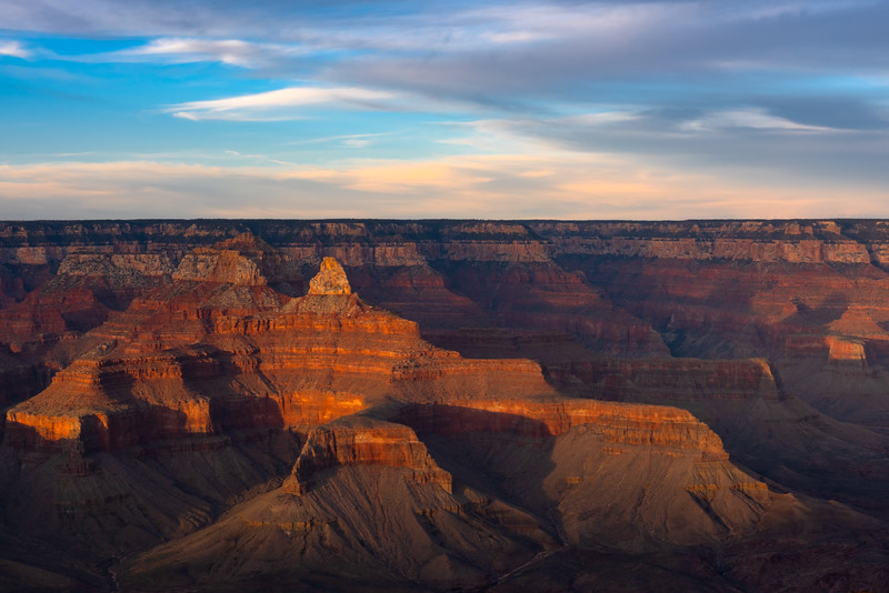 Mather Point Sunset View