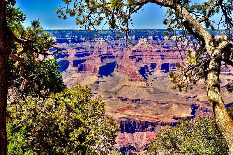 Vibrant canyon
