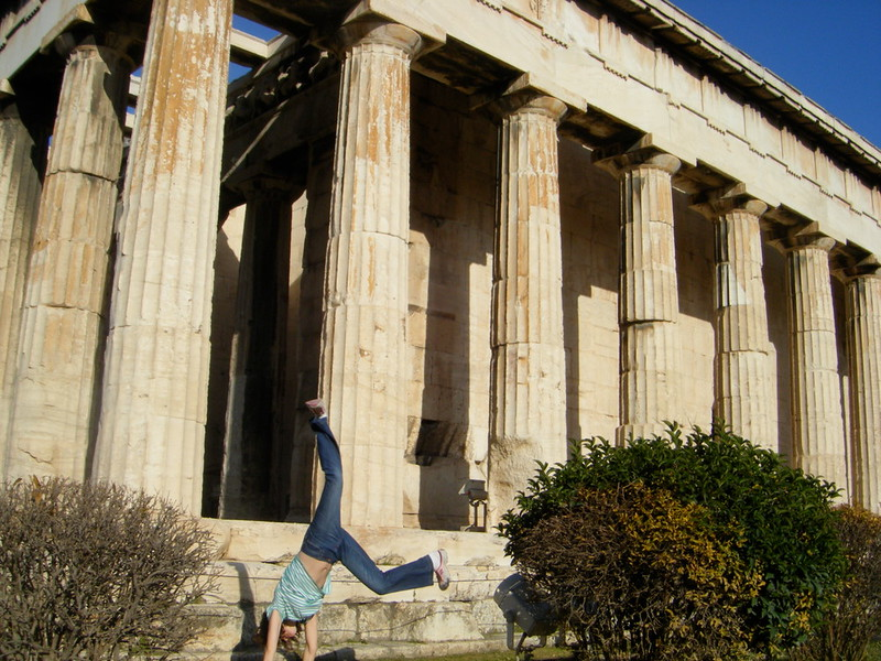 Desha Wood - Acropolis, Athens, Greece