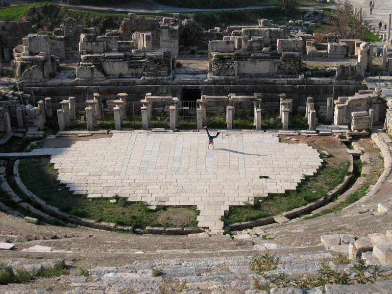 Desha Wood - Ephesus, Izmir, Turkey