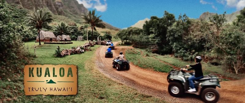 An old banner ad I shot for Kualoa Ranch on Oahu, Hawai'i.