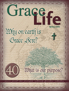 Circa Backup CD-124  CD:001GCCA  40 days of purpose.  This is the cover for the Grace Life magazine for spring 2004.