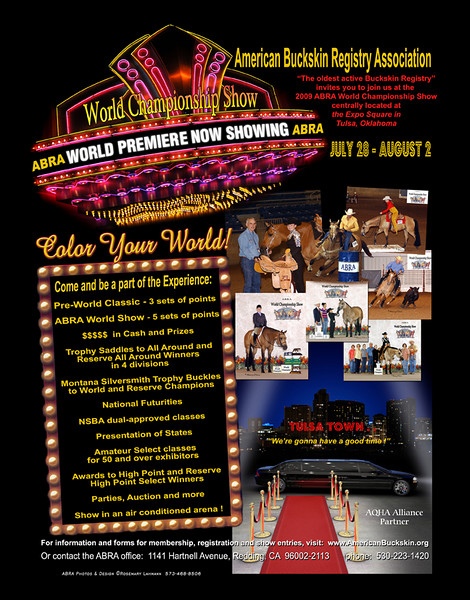 ABRA World Show ad - for 2008