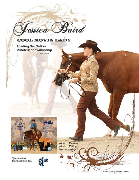 Jessica Baird - ad for The Way To Go - 2009