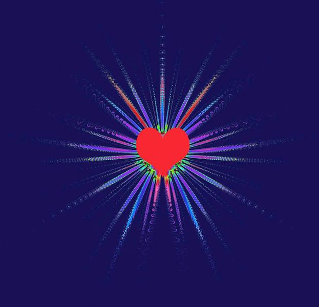 abstract heartbeats