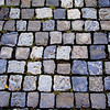 The cobble stone walkways of Rome