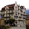 A quaint Swiss hotel adjacent to the Lindner Grand Hotel Beau Rivage.