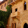 """The real Juliet's balcony!  <br /> <br /> """"Two households, both alike in dignity, In fair Verona, where we lay our scene, From ancient grudge break to new mutiny, Where civil blood makes civil hands unclean."""" - Via Cappello 23, Verona, Italy edit"""