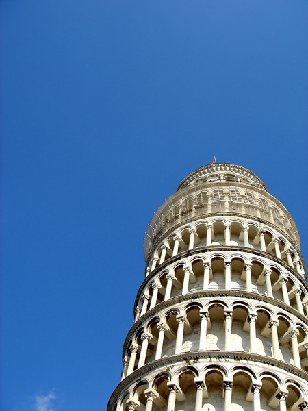 Ahh...the infamous leaning tower of Pisa.