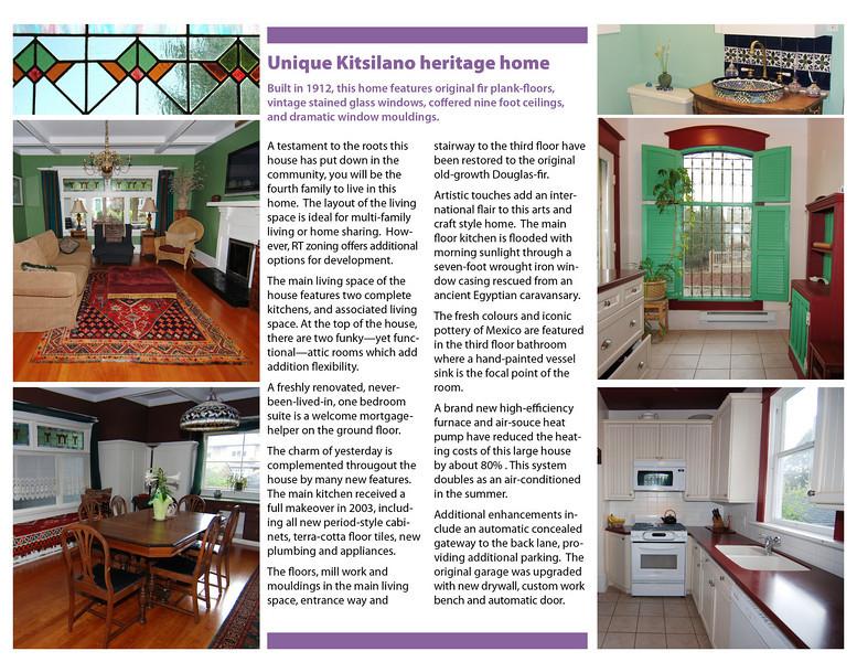TreeFrogCreative Photo Keywords brochures – Home for Sale Brochure