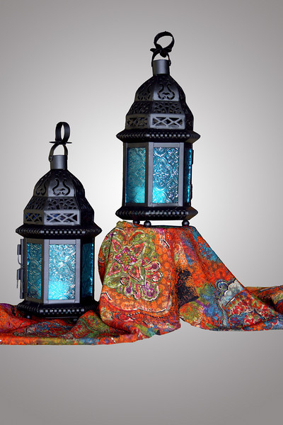 Lanterns with grad