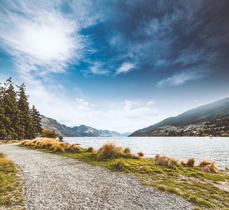 View of Queenstown New Zealand
