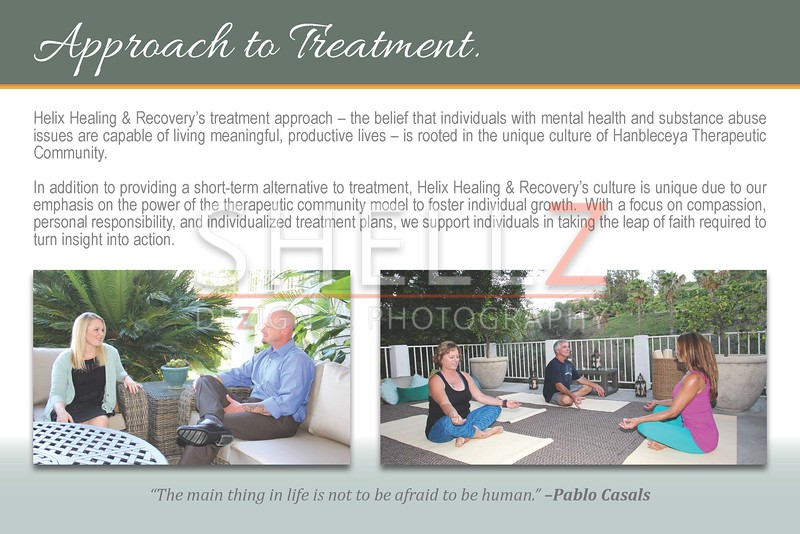 12-Page Brochure Design - HELIX Healing & Recovery