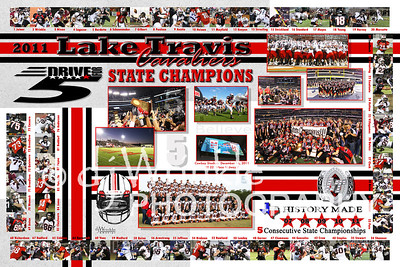 2011 State Championship Poster