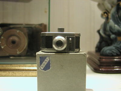 Antique miniature photo camera
