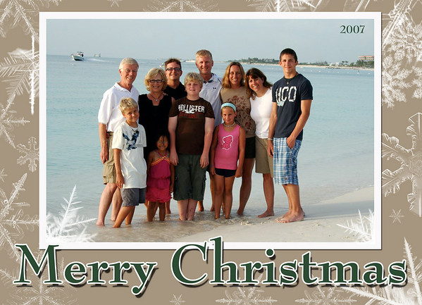 Becker Chrismas card