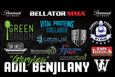 Fight Sponsorship Banner For Adil Benjilany