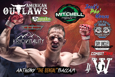Fight Sponsorship Banner For Anthony Baccam