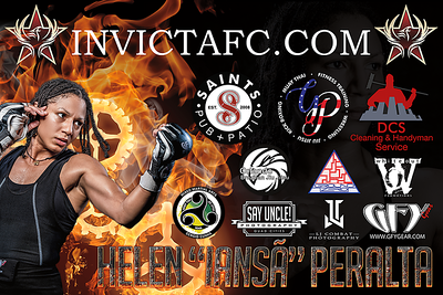 Fight Sponsorship Banner For Helen Peralta