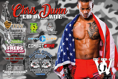 Fight Sponsorship Banner For Chris Dunn