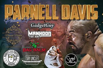 Parnell Davis Sponsorship Banner