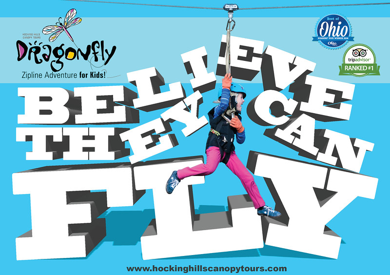 Billboard ad for Canopy Tours