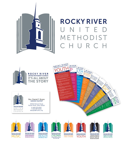 Rebranding: Rocky River United Methodist Church