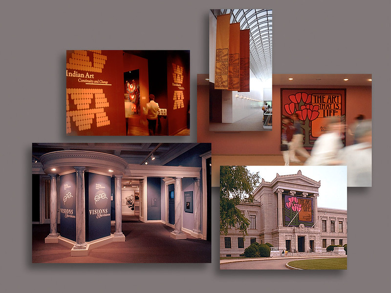 Various Exhibit Graphics