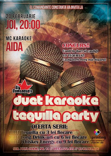 Duet Karaoke Tequila Party