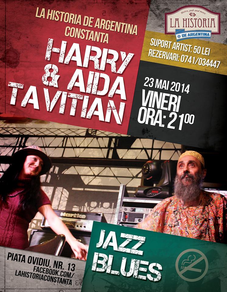 Concert Harry si Aida Tavitian
